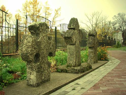 Намогильные кресты из д.Войносолово (Кингисепп)