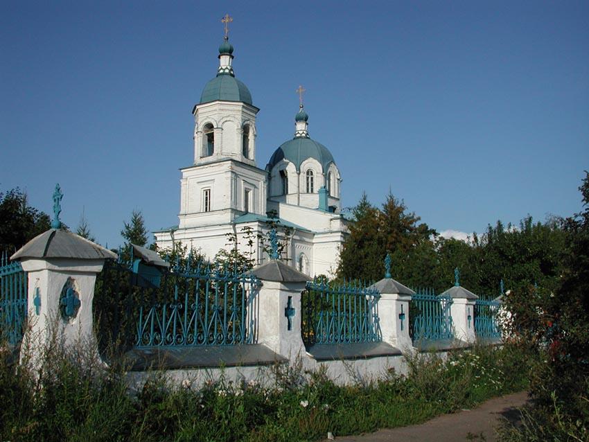 Церковь Воздвижения в дер. Ополье