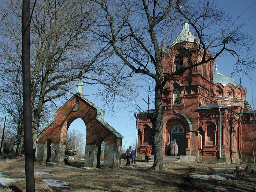 Церковь святого Николая в дер. Котлы